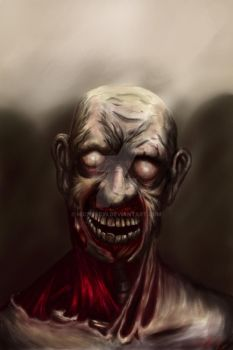 realistic colourversion zombie by Nickykcin