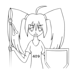 409 Error-tan - Uncolored by foxhead128