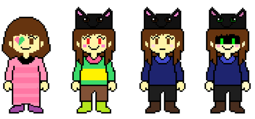 Old sprites by Cutemanglelover