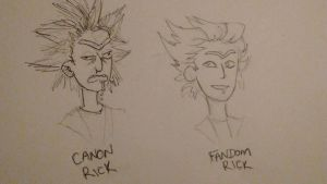 the rick sanchez complex by spaghottie