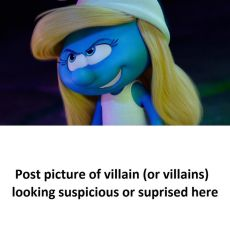 Smurfette tricks... Meme in Blank by HunterxColleen