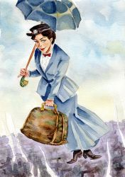 Mary Poppins by cabepfir