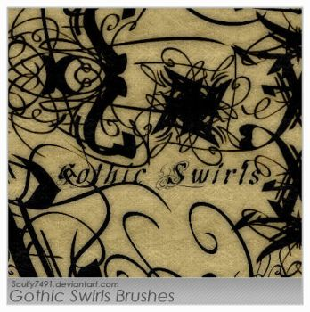 Gothic Swirls by Scully7491