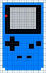 Game Boy Color Cross Stitch Pattern by moonprincessluna