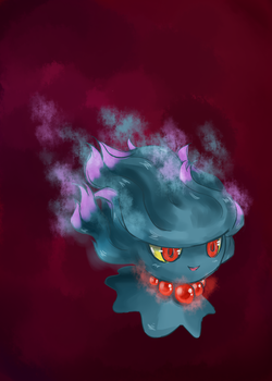 Gloomy Ghost by princetheripper33