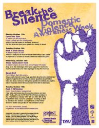 Domestic Violence Awareness We by WildeGeeks
