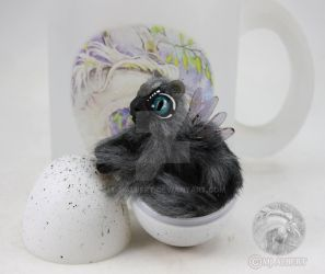 OOAK Fairy Spirit Dragon Hatchling Dolls by M-J-Albert