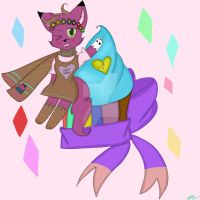 Cupcakes and Diamonds (gift for Sugarrushart) by CaptainFawkes-23