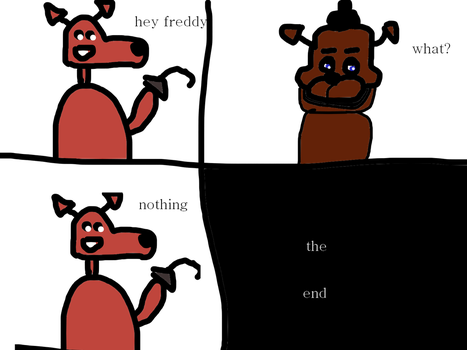 The fnaf comic by SasTheSoldier