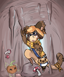 Spooky Cave Prompt by RascalWabbit
