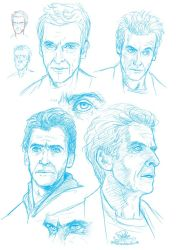 Sketchdump: Doctor Who Edition IV by Pretty-Angel