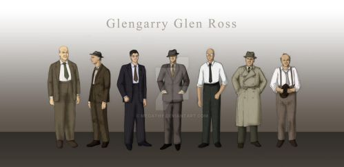 Glengarry Glen Ross by megathy