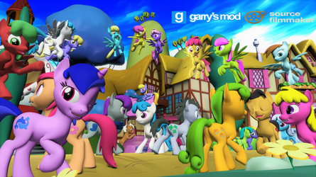 [DL] Background Ponies Enhanced Version by Stefano96