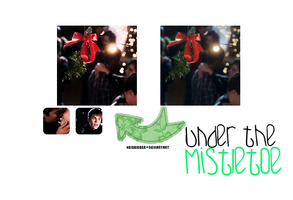 Under The Mistletoe Action by Heisbieber