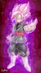 Super Saiyan Rose Goku Black by MugiMikey