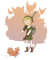 A Harsh Lesson for Link by FindChaos