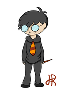 Harry Potter by SkeletalStar