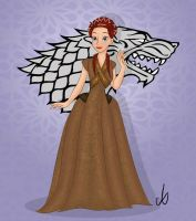 Sansa Stark by aniek90
