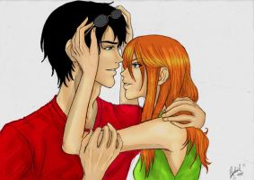 Harry and Ginny by Hybrid22