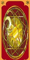 Back of the Clow Cards by inuebony
