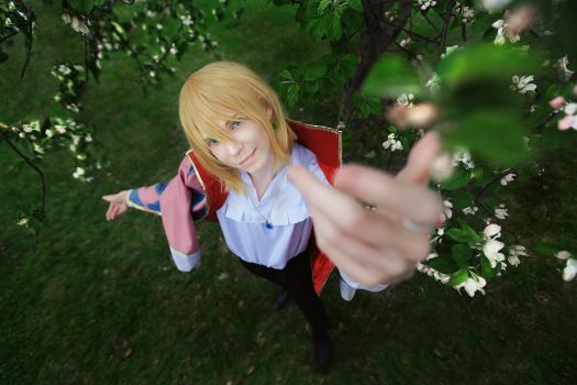 Howl's Moving Castle- Howl cosplay by xVIDx
