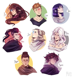 TCM: I fixed all my characters... by LivingAliveCreator