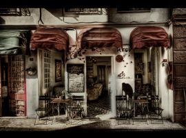 Le Cafe HDR by ISIK5