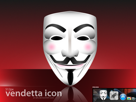 Vendetta Icon by AL-Arts