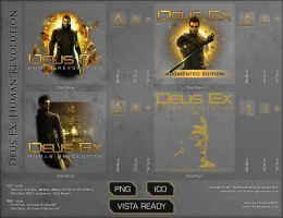 Deus Ex 2011, Dock Icons by VikingWasDead