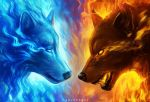 Fire and Ice - Animated Version by TimTaller