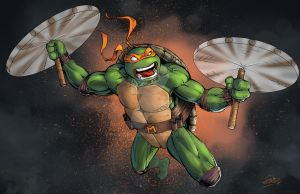 Michelangelo Colors TMNT by SaviorsSon