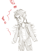 The Tiniest, Angriest Eren by ucccoffee