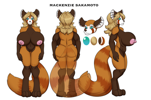 Mackenzie Sakamoto Reference by RiddleAugust