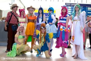 MLP - Grand Gala Cosplay by Knorke-chan
