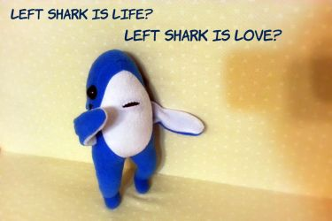 Left Shark is life, left shark is love by Jonisey