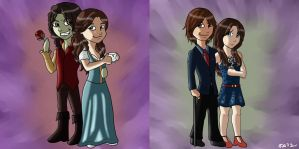 RumBelle Chibis by winterelf86