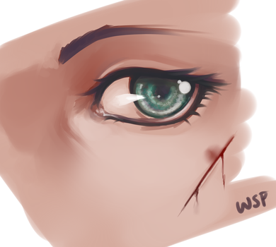 Eye by WanderingSketchPad