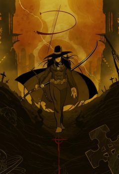 Vampire Hunter D by cheshirecatart