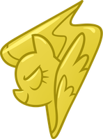 Wonderbolts Lead Pony Badge by AxemGR