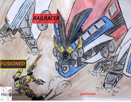 transformers: david and goliath by puticron