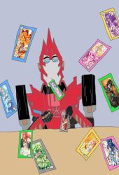 Battle Trading Card Training by isaacyeap