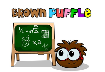 Club Penguin - Brown Puffle by Cuddlesnowy