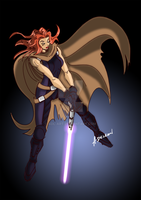 Mara Jade Skywalker by ADL-art