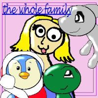 the whole family by flightlessbird