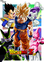 Poster Dragon Ball Z. by ImedJimmy