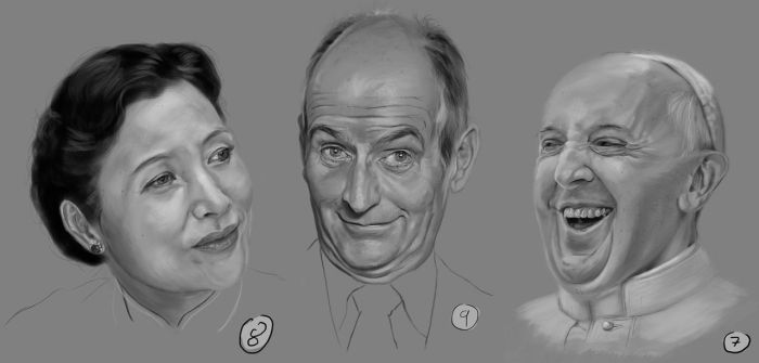 Drawing Practise: Faces 3 by IgnazioDelMar