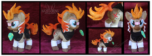 Bounty Hoof OC Custom Plush by Nazegoreng