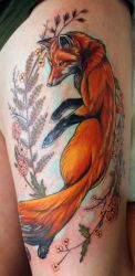 Fox and Ferns by seanspoison