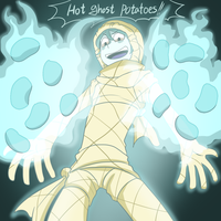 HOT GHOST POTATOES by ohthree