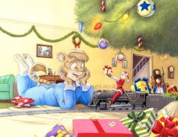 Lionel Christmas by Baron-Engel